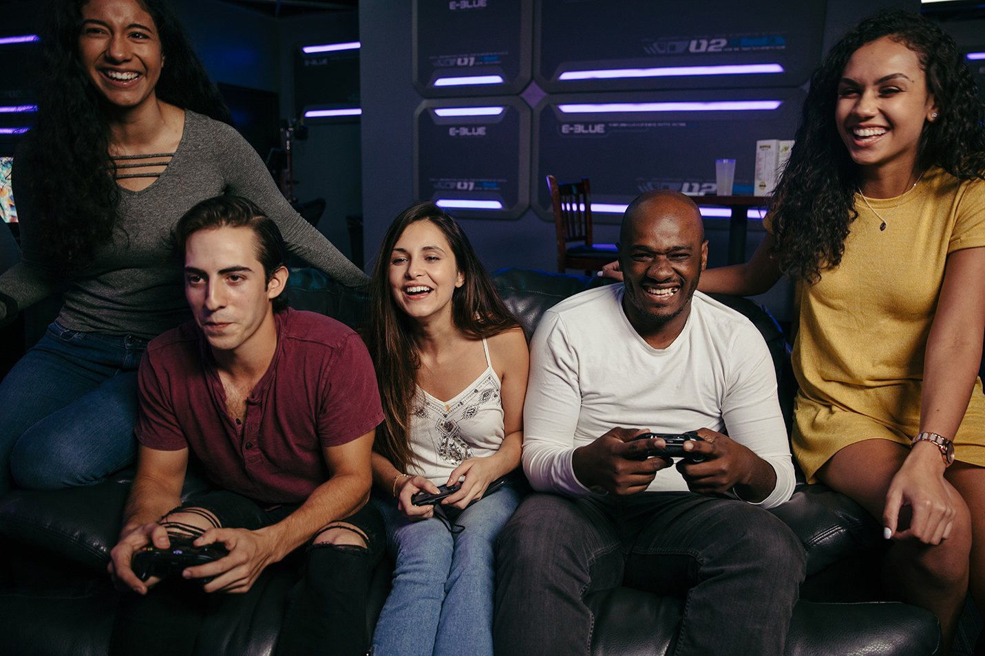 Friday nights made better with friends at GameWorks - Seattle