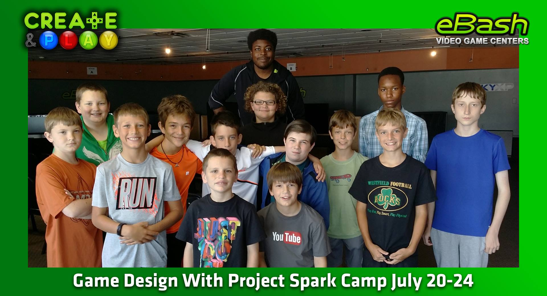 Game Design With Project Spark Camp July 20-24