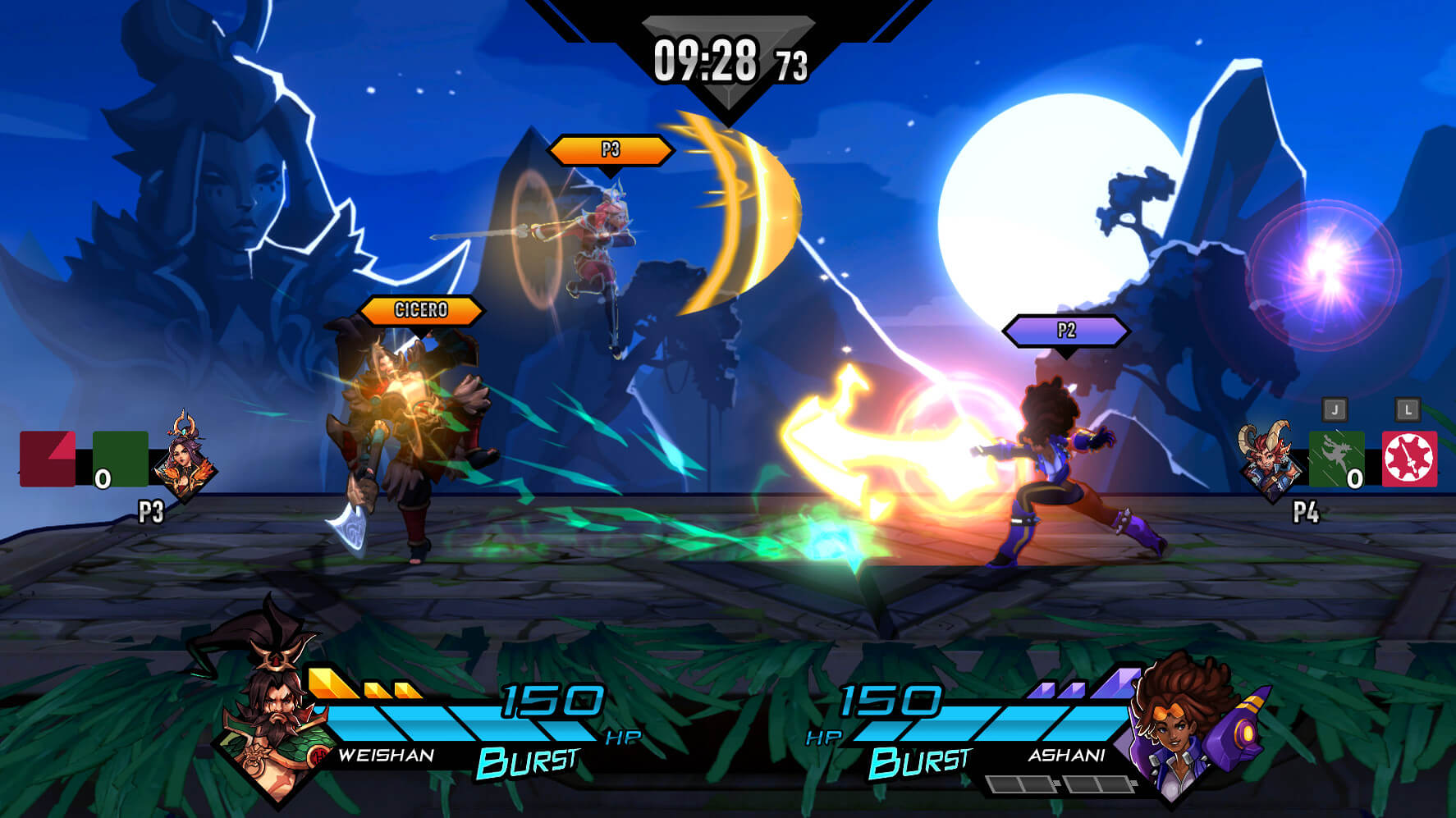 Get ready to rumble with friends in several multiplayer options
