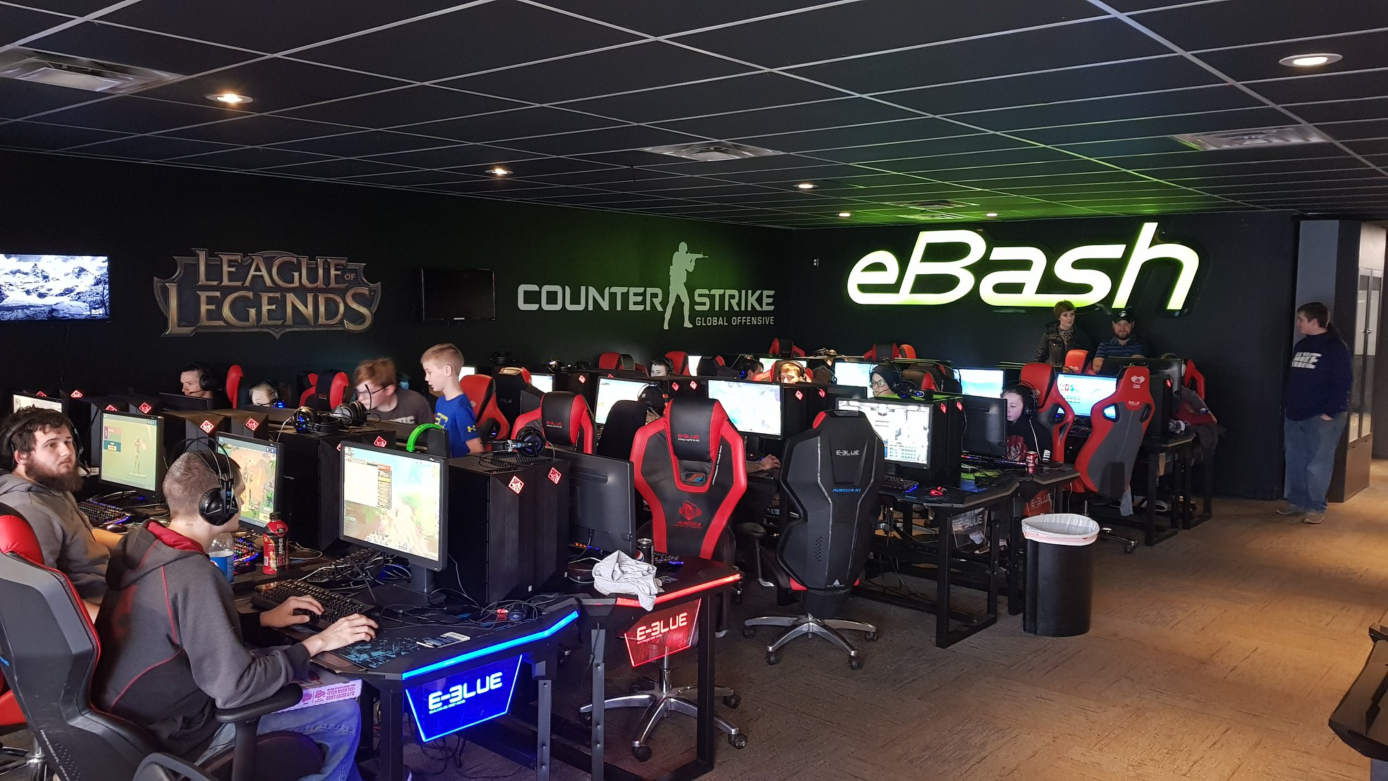 LAN centers provide video game experience that can never be attained when playing games at home