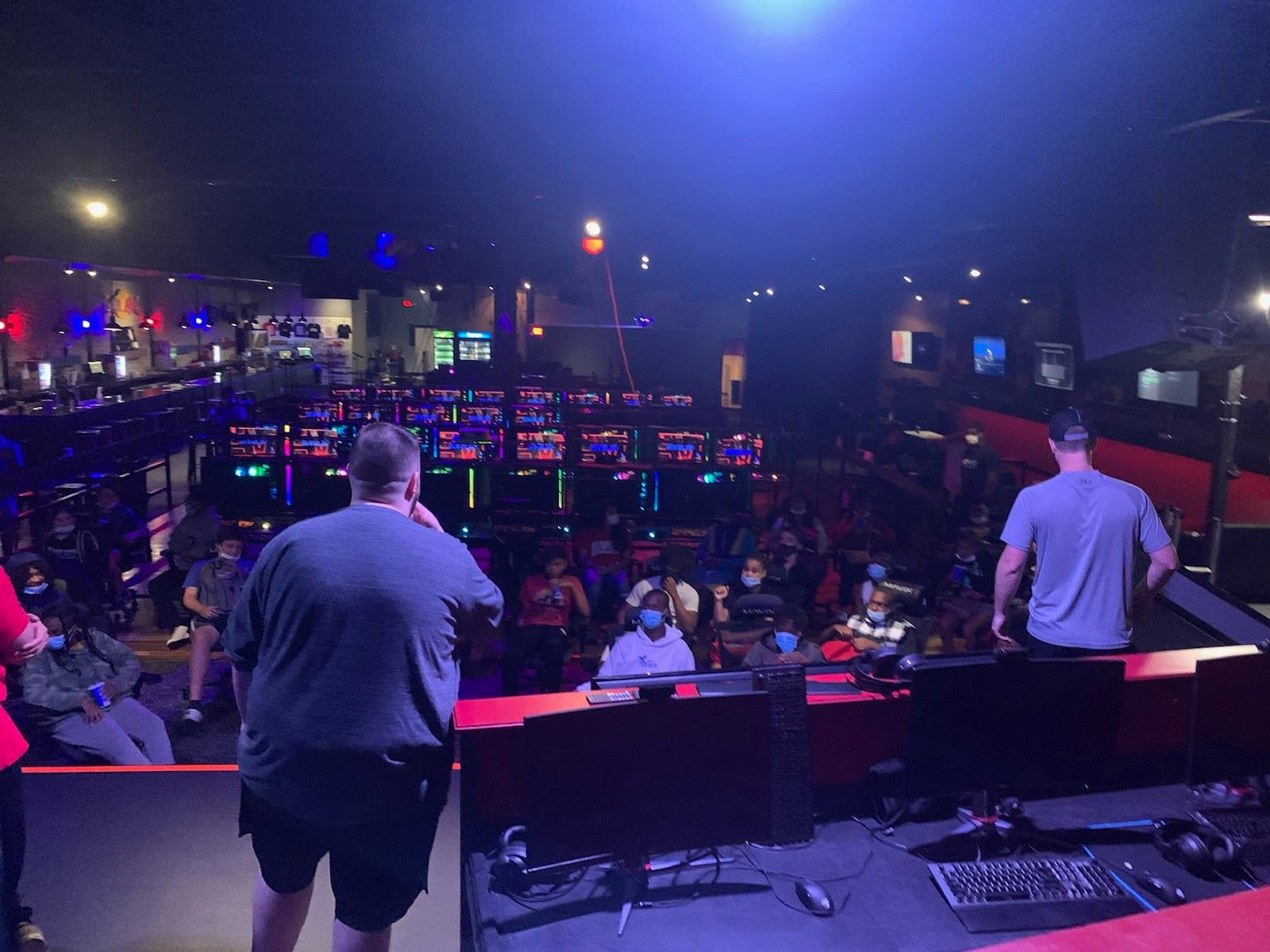Just one of the many esports events in LEVELUP Arena