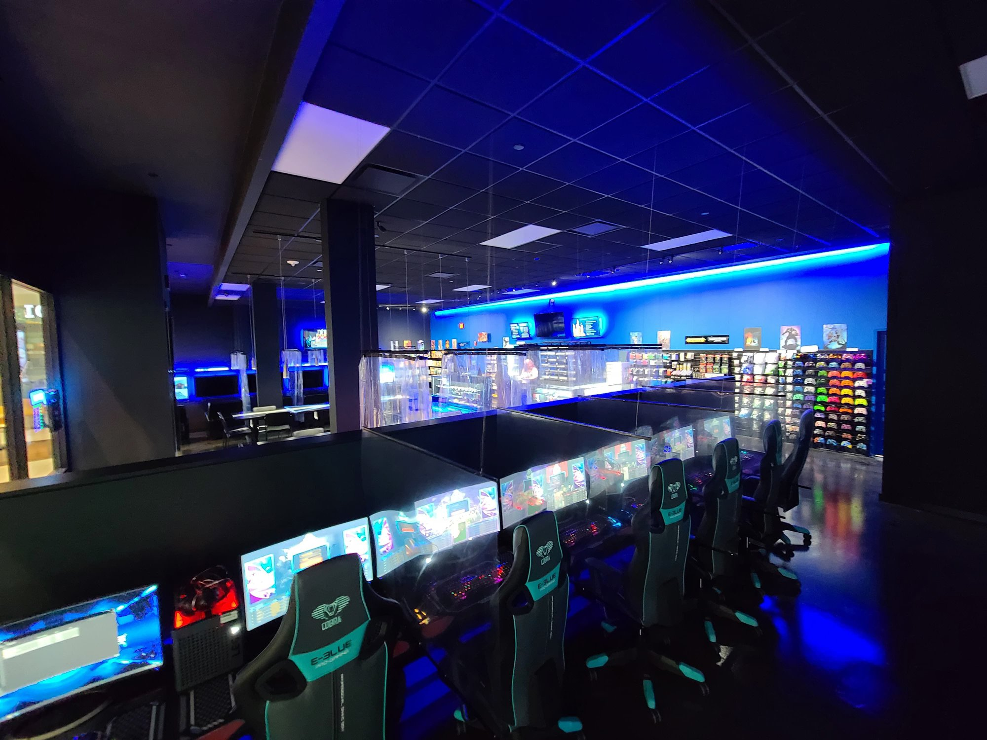 PLAYlive Nation - South Park Mall offers the best digital and table-top entertainment in one place