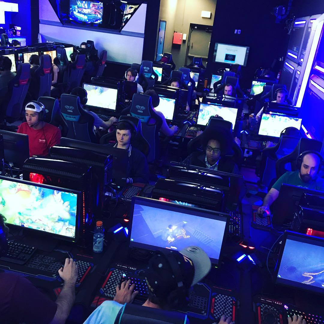 Pure Esports is an esports gaming internet cafe in Gilbert, AZ (photo courtesy Pure Esports FB page)