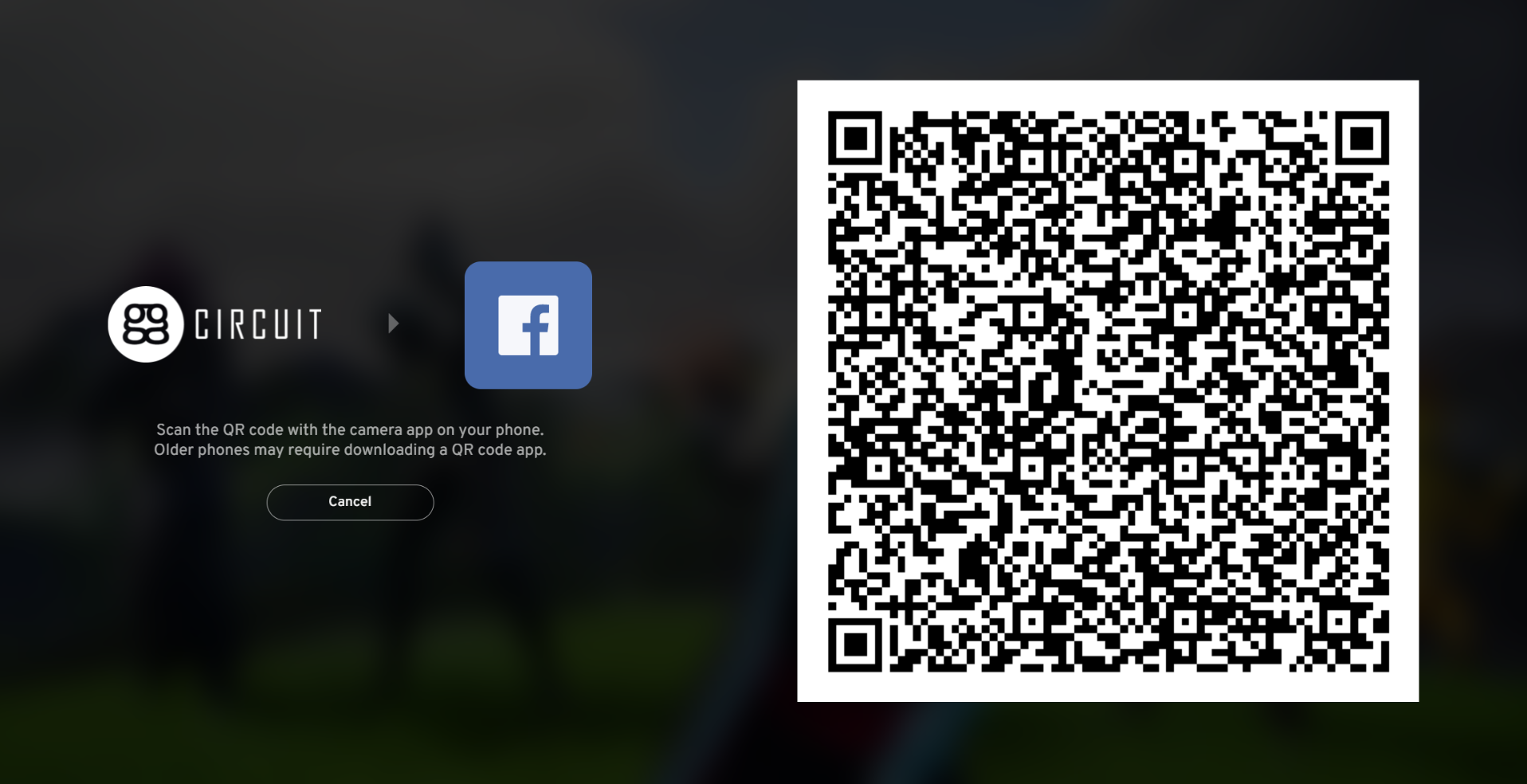 The QR code login feature provides a safer way of logging in a client PC