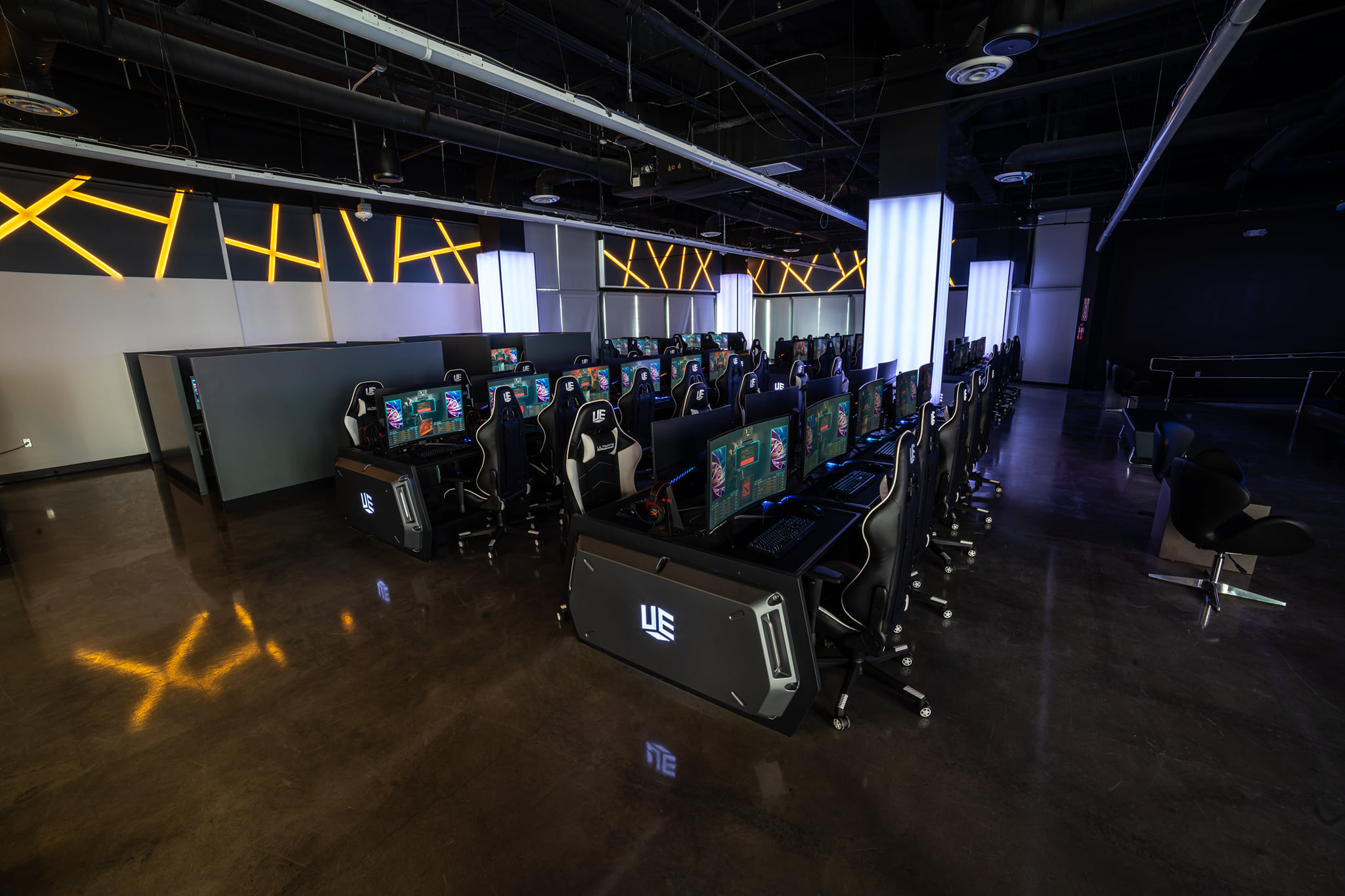 This esports venue is a great place for casual and professional players