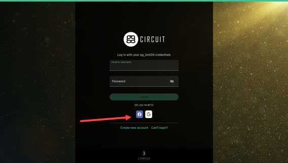 Use free Google and Facebook sign in ability for your esports center business.