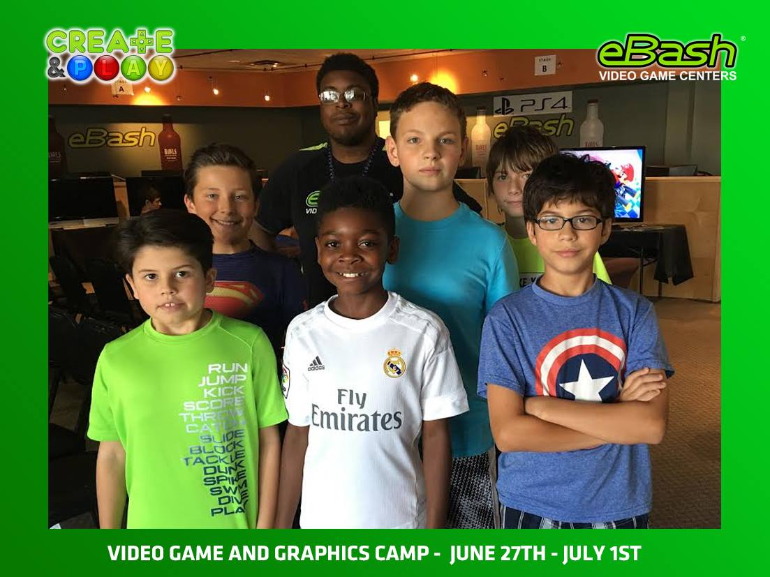 Video Game and Graphics Camp - June 27-July 1