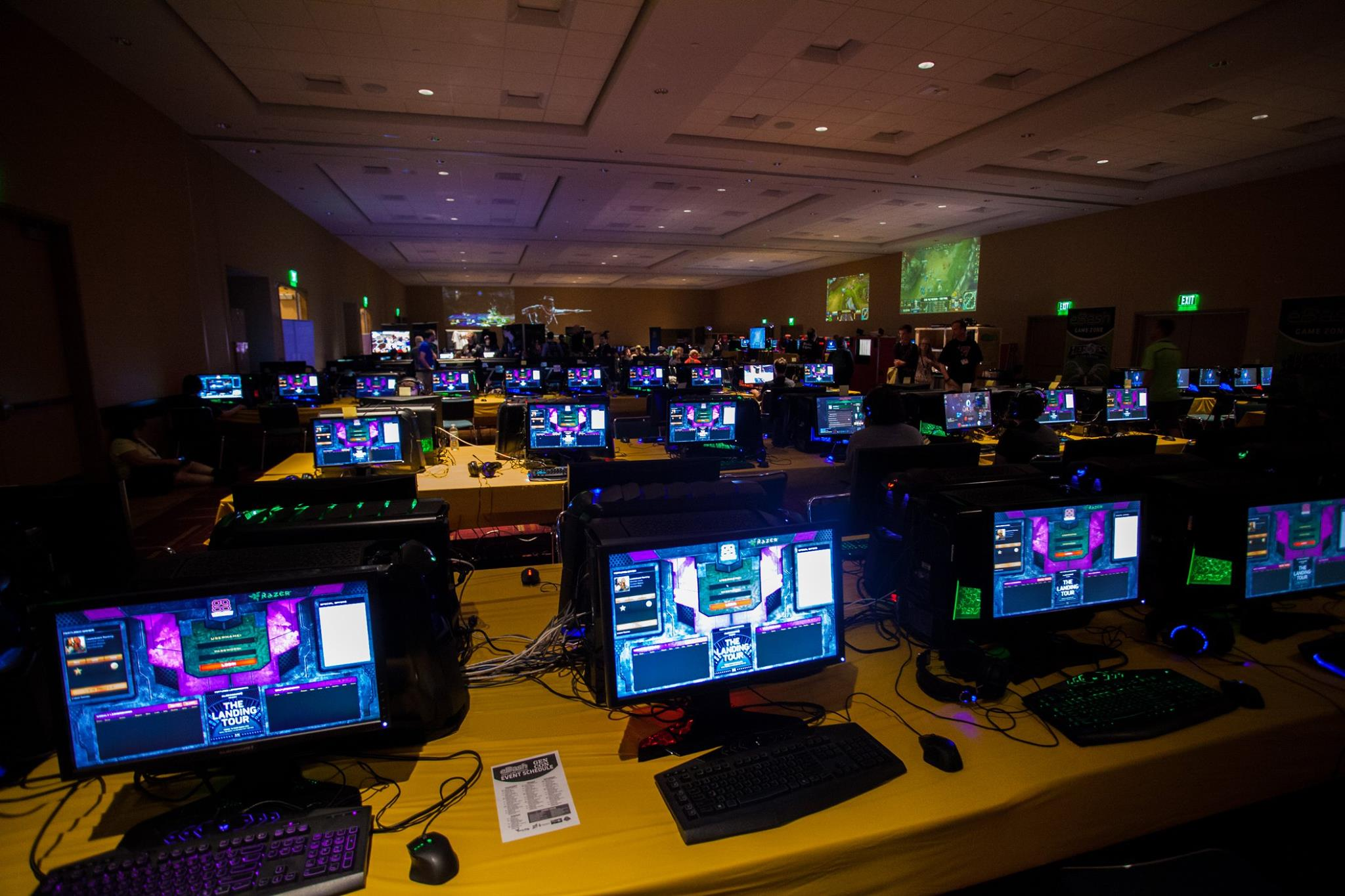ggCircuit and the SpecOps team ran the esports area of GenCon for five years. It's last year with over 250 stations setup in two days.