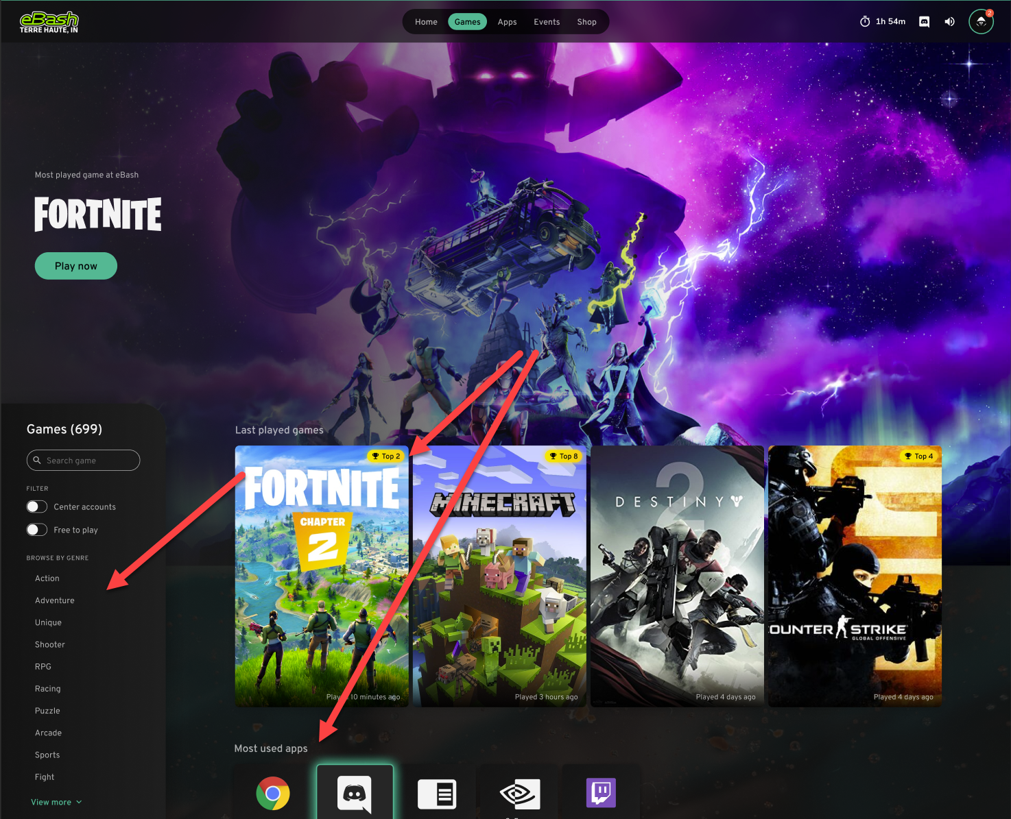 ggLeap's new games screen adds tags and filters for easier access to the games and apps