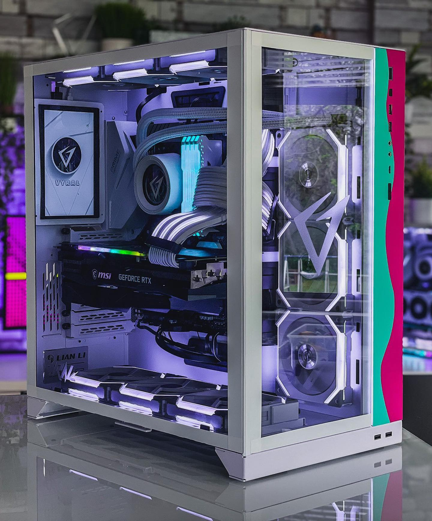 Vyral is also known for their custom PC building service