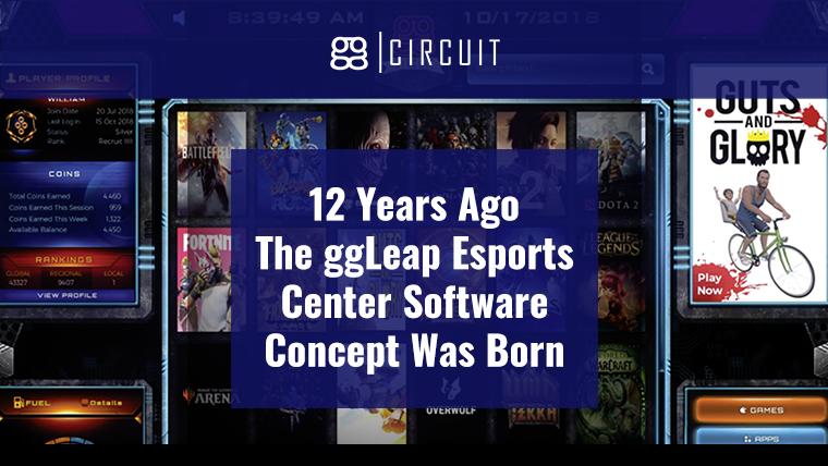 12 Years Ago The ggLeap Esports Center Software Concept Was Born