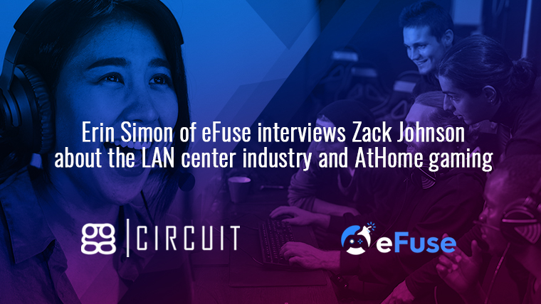 Erin Simon interviews Zack Johnson about the LAN center industry and AtHome gaming