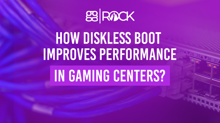 How Diskless Boot Improves Performance in Gaming Centers