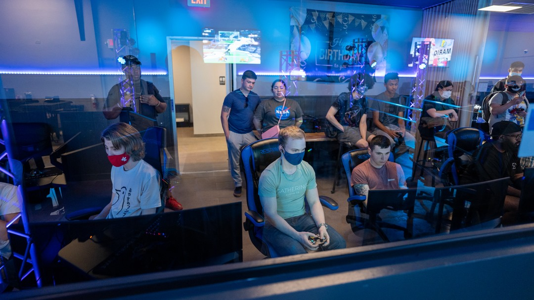On site expertise could be a game changer for making your esports venue successful. Photo couresy of The Esports Cave - Austin, TX