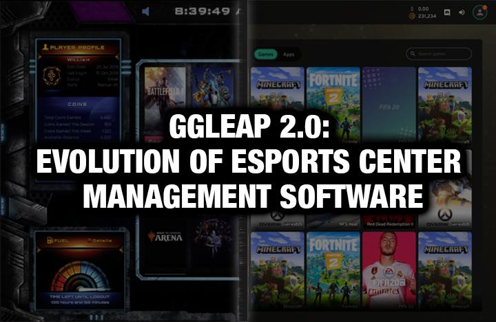 ggLeap 2.0: Evolution of Esports Center Management Software